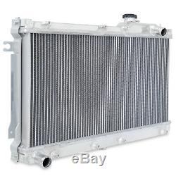 Radiateur Rad Pour Radiateur Sport Double Core Aluminium 50mm Pour Mazda Mx5 Mx-5 1.6 1.8 89-97