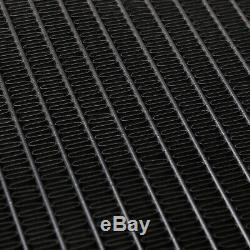 Radiateur Rad Rad Radiant Direnza Noir Allié 45 MM Pour Bmw Série 3 E30 E36 E34 82-01