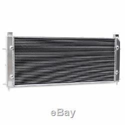 Radiateur Rad Radiant En Alliage D'aluminium De 40mm Pour Vw Volkswagen Transporter T4 1.9 2.0 2.4