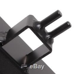 Radiateur Rad Radiateur En Alliage Noir 40mm Pour Opel Astra G Mk4 2.0 Zsilet Gsi Sri