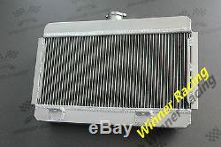 Radiateur / Radiateur En Alliage D'aluminium 56mm Compatible Citroen / Citroën Ds / ID 1956-1972