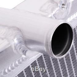 Radiateur Rond Radiant Double Core En Alliage De 50mm Pour Nissan 180sx S13 Sr20det 2.0 91-94