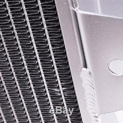 Radiateur Sport À Alliage Double À Noyau Double Débit 42mm Pour Ford Escort Mk2 1600 1.6 Rs