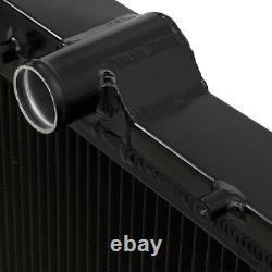 Radiateur Twin Core En Aluminium Noir De 42 MM Pour Subaru Impreza Grb Sharkeye Wrx Sti