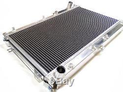 Radiateur Universel En Alliage Rad 640x345x52mm Idéal Pour Voiture De Kit De Course Sur Piste