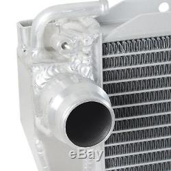 Rayon De Radiateur De Course De Sport D'alliage D'aluminium De Débit Élevé De 42mm Pour Bmw 5 7series E38 E39