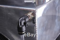 S13 S14 S14a S15 Radiateur D'alliage D'aluminium D'en-tête De Vase D'expansion De Liquide De Refroidissement