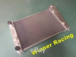 Salut-perf. 40mm Radiateur En Alliage D'aluminium À 2 Rangées Pour Vw Golf Mk1 1.1 1.3 1981-1984