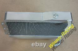 Salut-perf. Radiateur En Alliage D'aluminium Mg Mgb Gt/roadster Top-fill 1968-1975 1972 1973