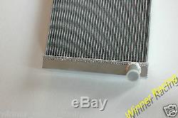 Sur Mesure Pour Mercedes Benz Unimog 406/413/416 1970s Radiateur En Alliage D'aluminium 86mm