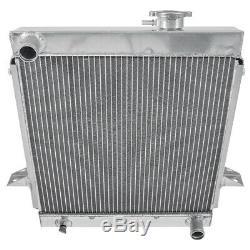 Triumph Tr6 Radiateur En Aluminium Alliages De Haute Qualité 1972 1974 Nouveau 850-041