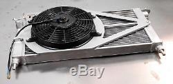 Txautosport Radiateur Aluminium Alliage Corsa B Gsi 2.016v Redtop Conversion + Ventilateur