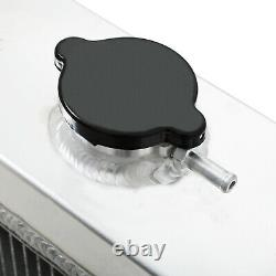 Universal Race Drift Drag Sport Quad Core 70mm Aluminium Cooling Radiator Rad