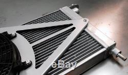 Vauxhall Corsa B C20let C20xe Carénage De Ventilateur & Radiateur En Aluminium